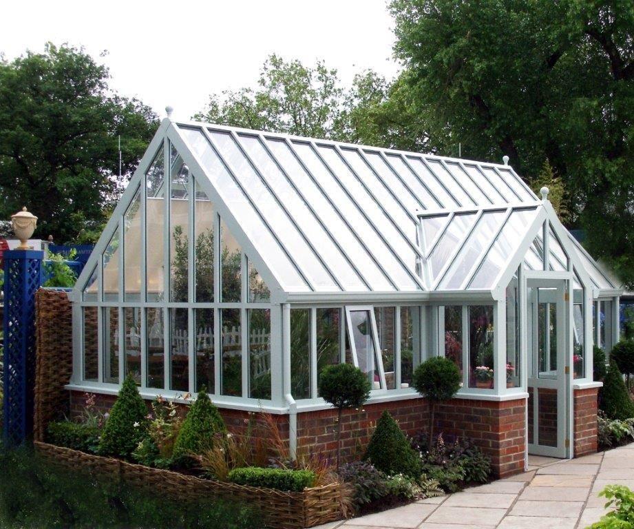 Large Aluminium Hartley Botanic Greenhouse #Brick