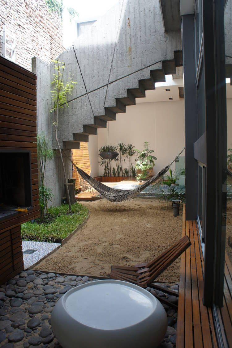 Ph moderno en villa crespo otra vista del patio ph for Piscinas en patios chicos