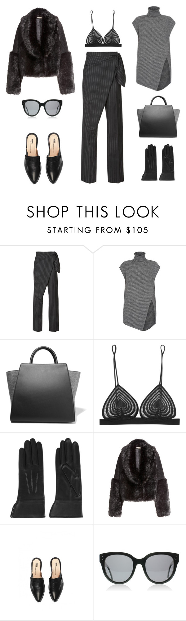 """""""Unbenannt #506"""" by fashionlandscape ❤ liked on Polyvore featuring мода, J.W. Anderson, Sportmax, ZAC Zac Posen, Christopher Kane и AGNELLE"""