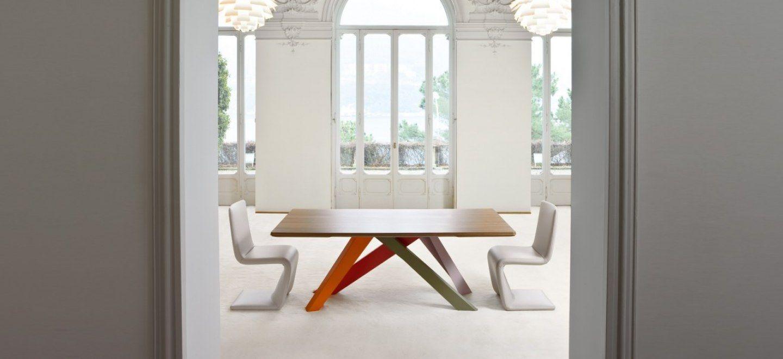Big Table gambe colorate | Brand : Bonaldo _ SESTO SENSO arredamenti ...