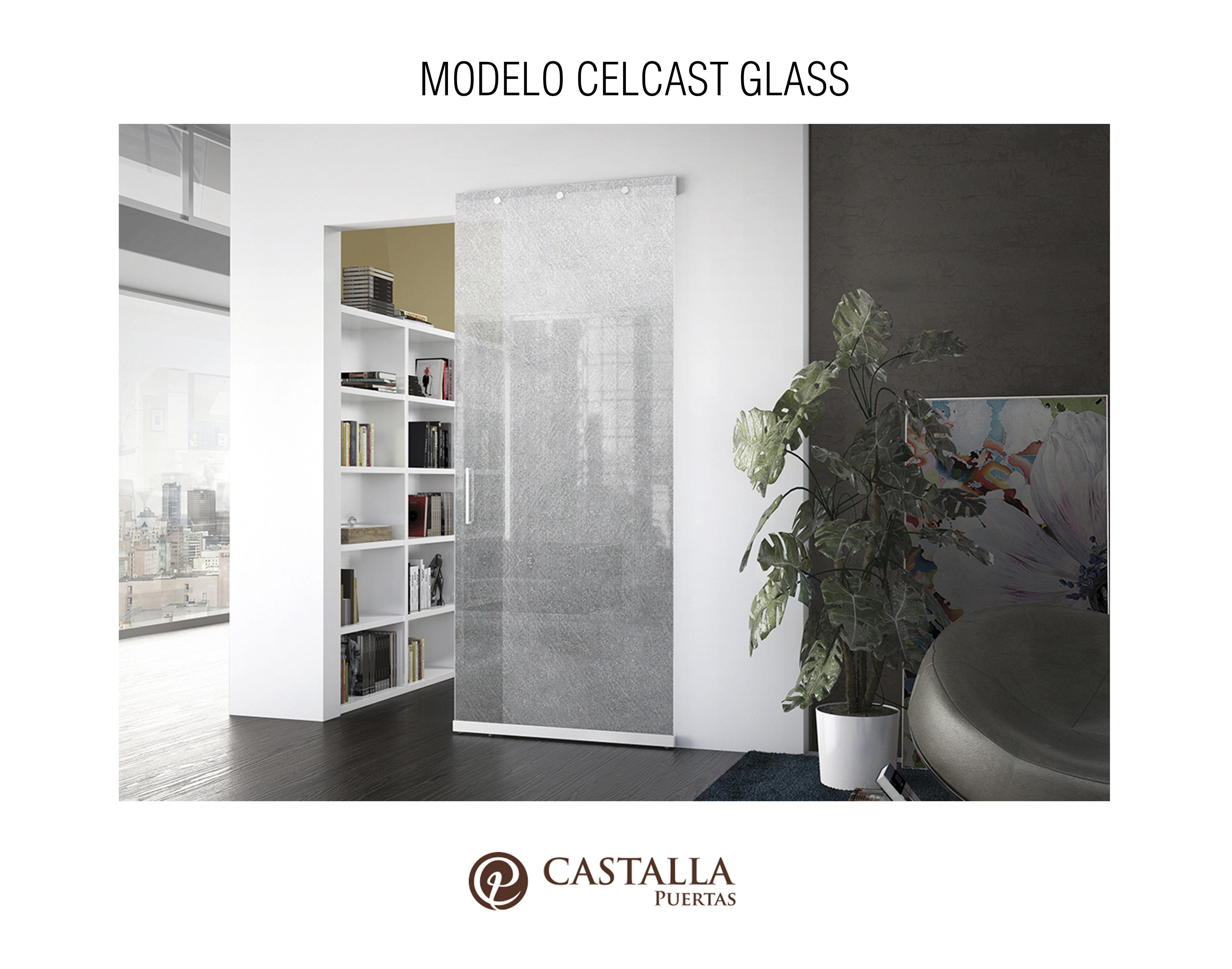Puerta Corredera Interior Con Cristal Celcast Glass Puertas De  ~ Puerta Corredera Cristal Exterior