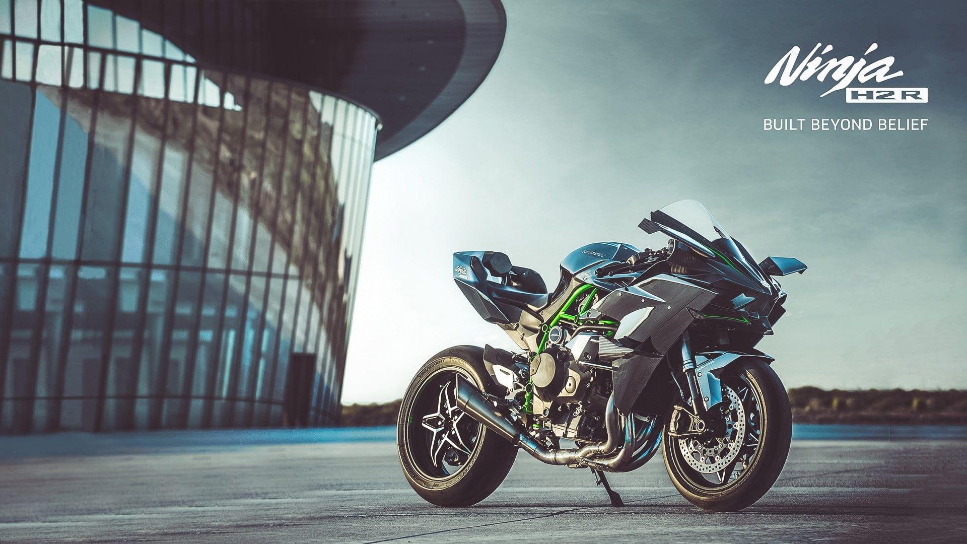Kawasaki Ninja Kawasaki Ninja H2r Motorcycle 1080p Wallpaper