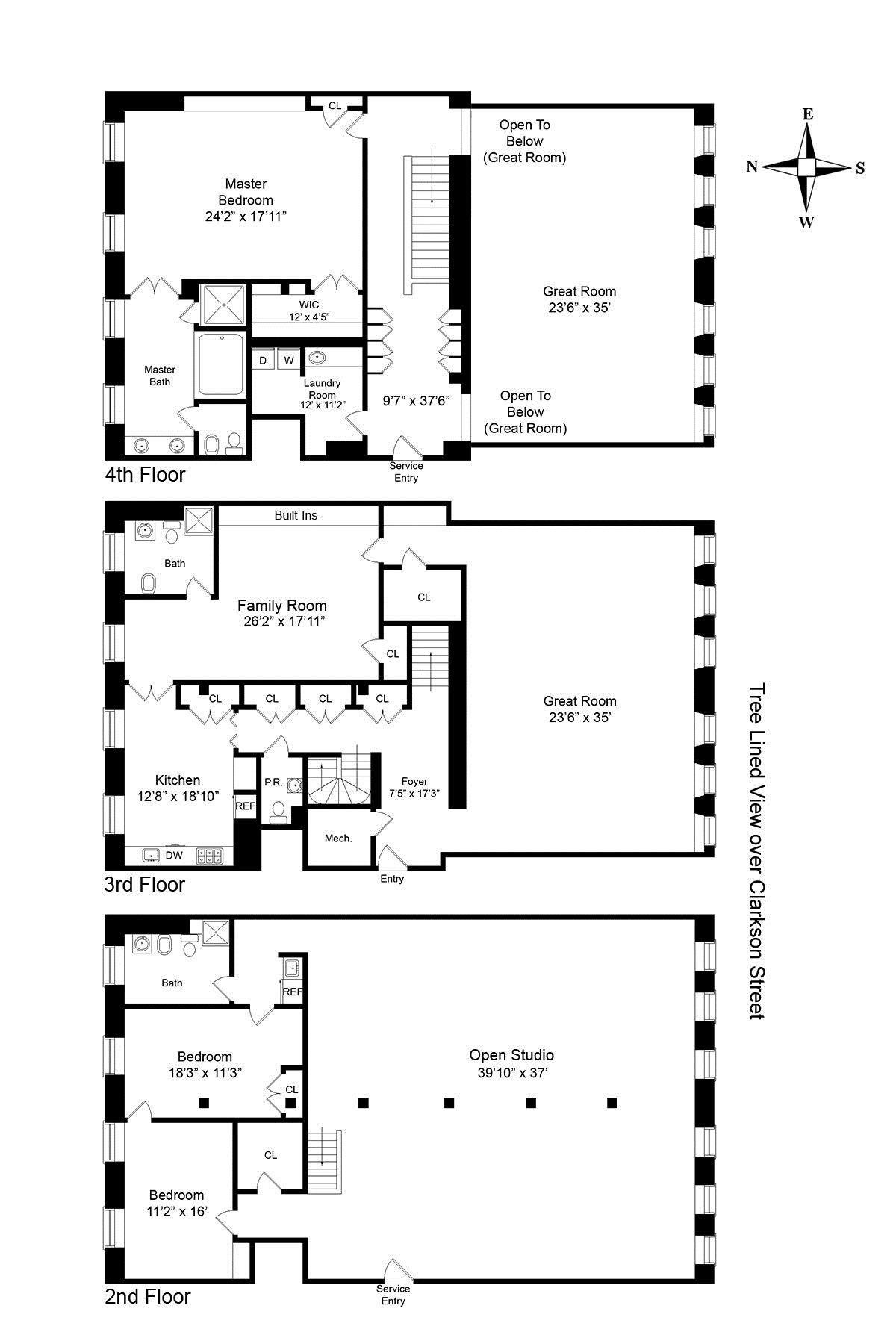 Luxury New York Apartment Floor Plan