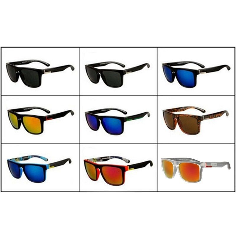 Men/'s Polarized Sport Sunglasses Outdoor Driving Fishing Fashion Square Glasses