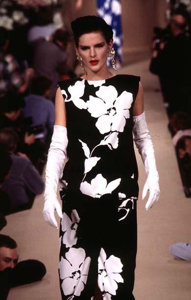 abito da sera di yves saint laurent haute couture 1996 moda donna pinterest haute couture. Black Bedroom Furniture Sets. Home Design Ideas