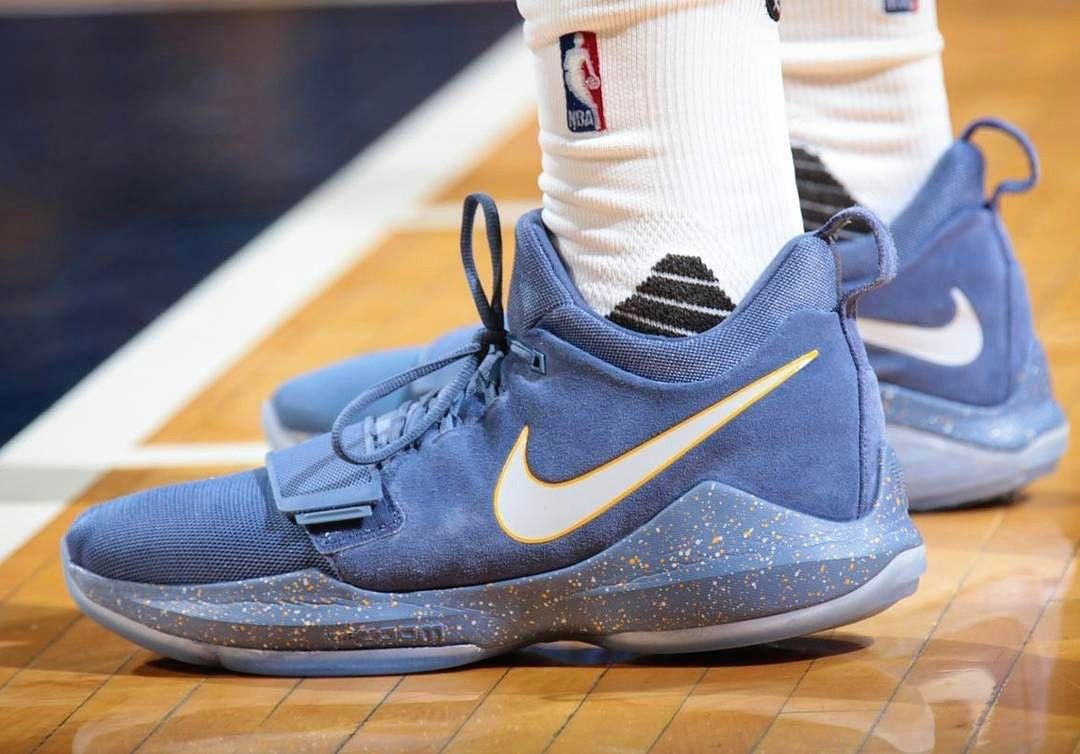 Paul George @ygtrece #ClinchedPlayOffSpot Nike #PG1s PE ••••••