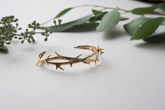 Thorn Bracelet Branch/Vine-Inspired Cuff in от CollectedEdition