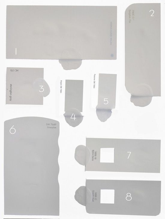 1 cement grays no color in the undertones 2 warmer grays little closer to taupe brown or. Black Bedroom Furniture Sets. Home Design Ideas