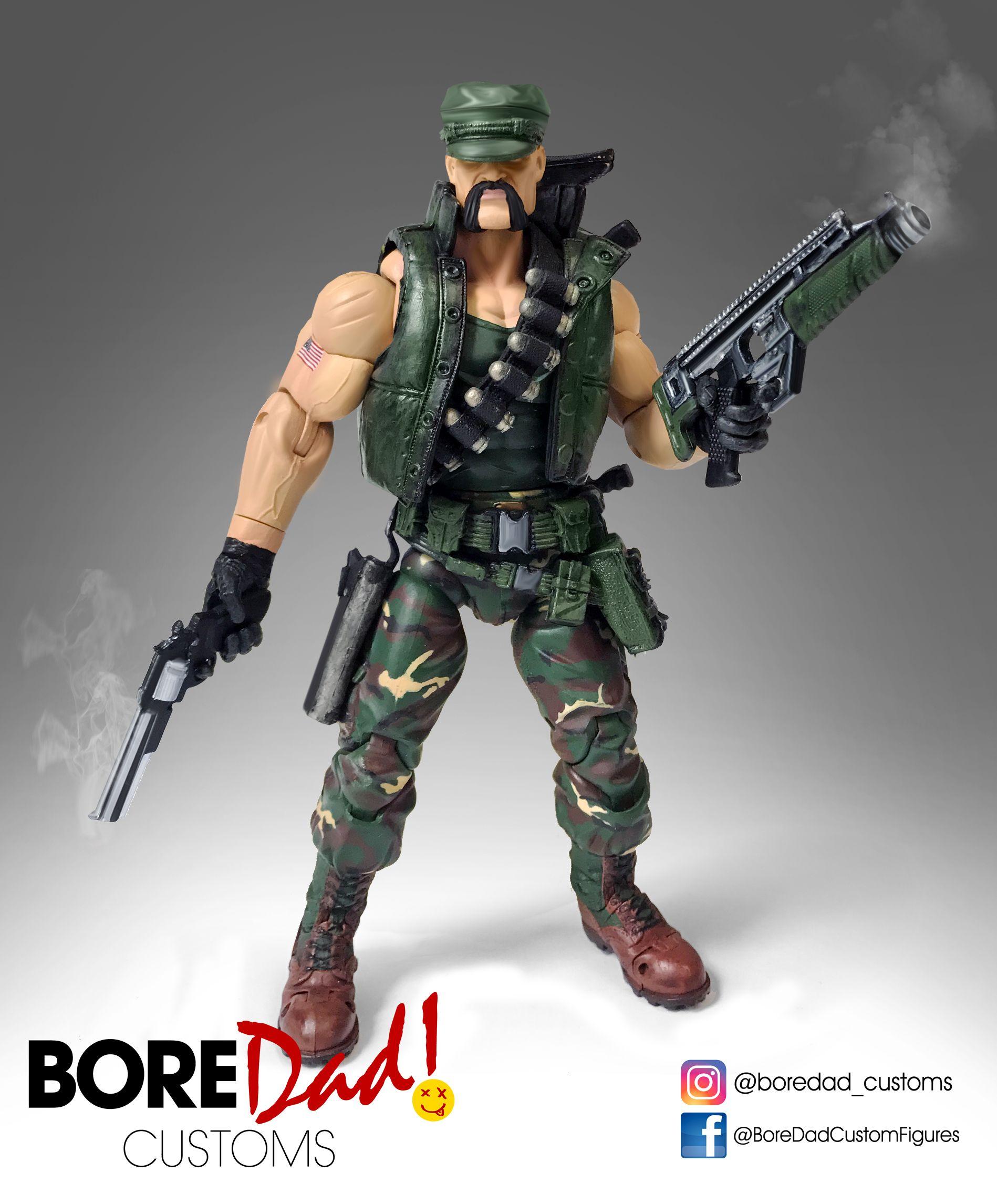 Custom Action Figure Marvel Legends Gi Joe Gung Ho