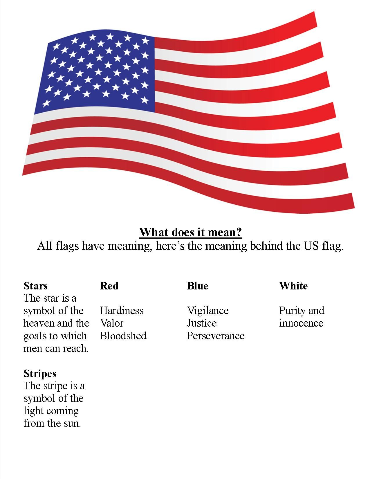 American Flag Class American Flag Meaning Usa Flag Images Flag