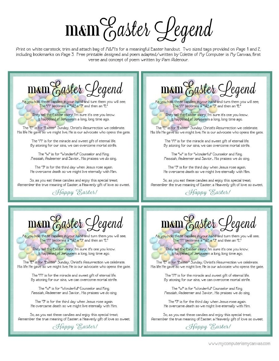 Freebie easter mm poem printable scribd church pinterest freebie easter mm poem printable scribd negle Images