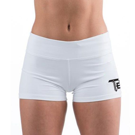 69bff9f025dc White Gym Shorts | Women's Gym shorts | Booty Shorts | Crossfit shorts | 10  Colors