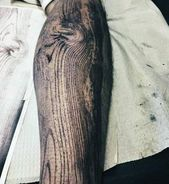 50 Wood Carving Tattoo Designs for Men – Masculine Ink Ideas