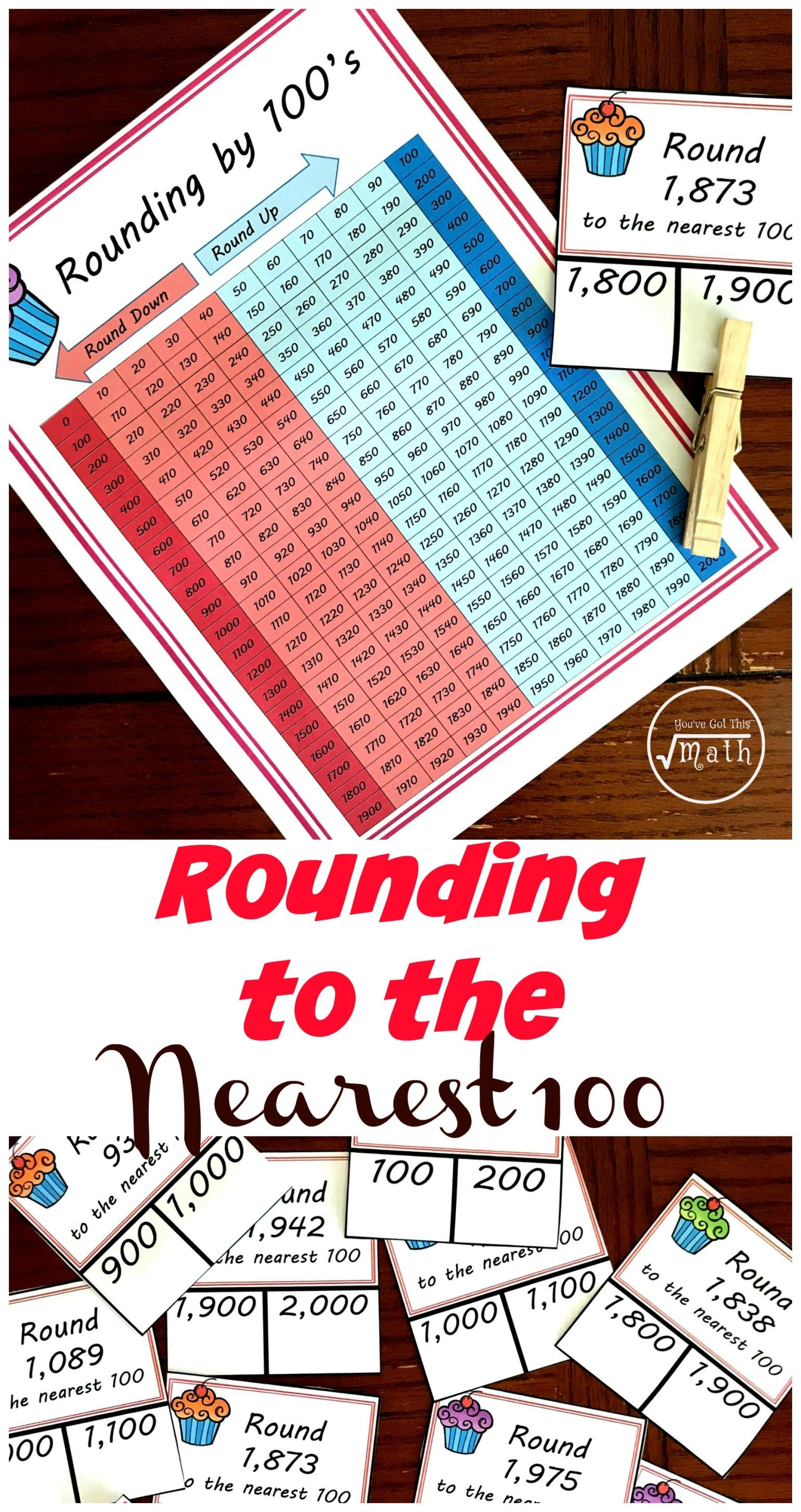 Free Rounding To The Nearest Hundred Worksheet