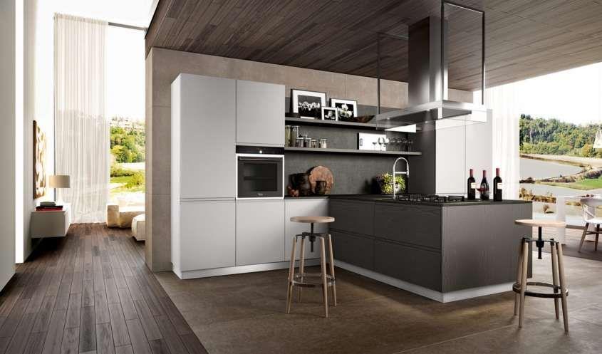 Abbinare il pavimento al rivestimento della cucina | Glass ...