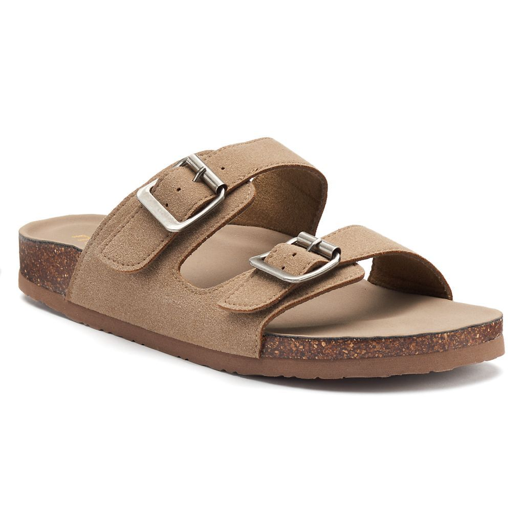 madden NYC Breckk Women's Footbed Sandals Sandals for
