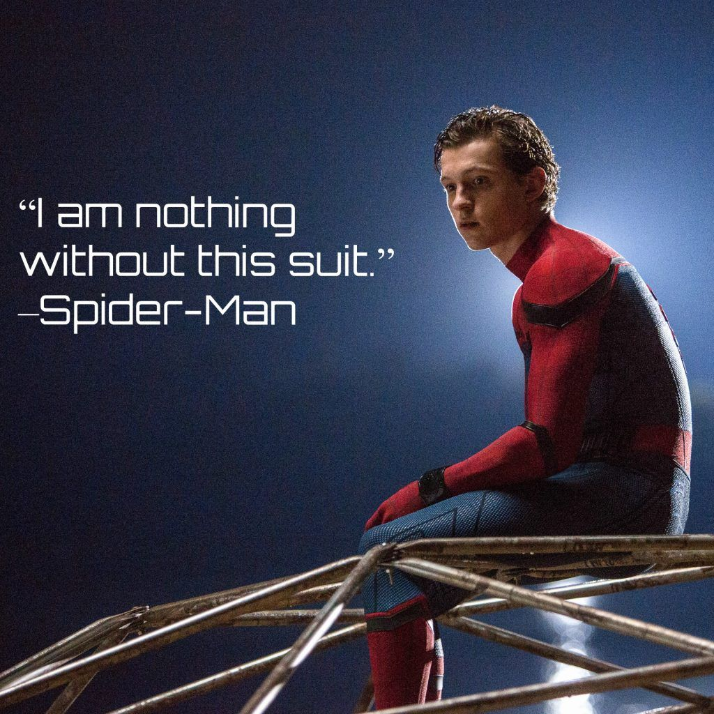 Spider Man Homecoming Quotes Spider Man Quotes Marvel