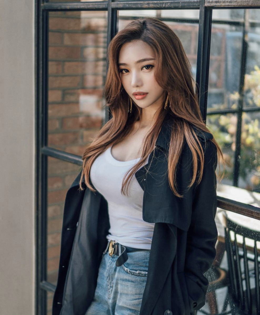 Djamilya korean babes young niece gif