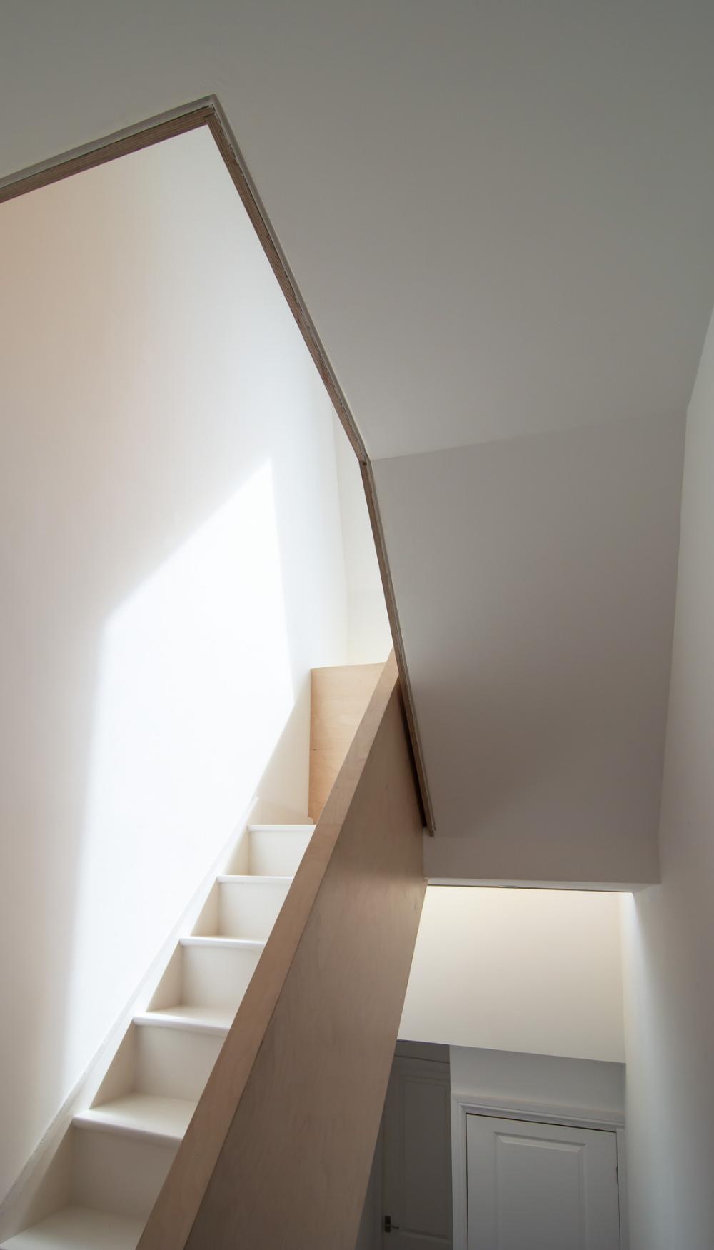Bespoke Stair Plywood Balustrade Loft Stair Loft Conversion Stoke ...