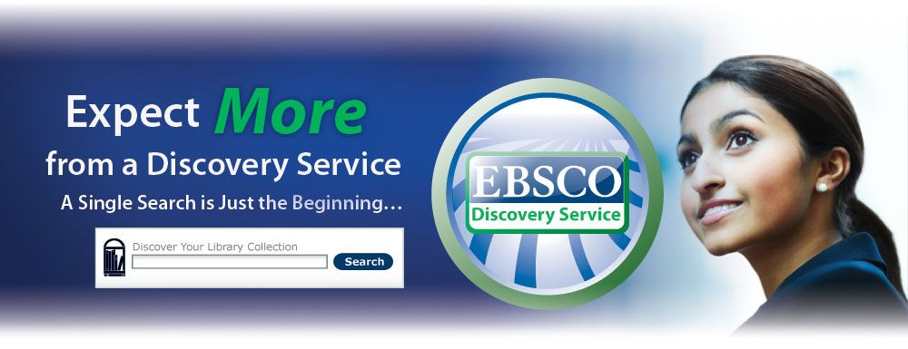 EBSCO Discovery (aka Multisearch) is an easy but powerful