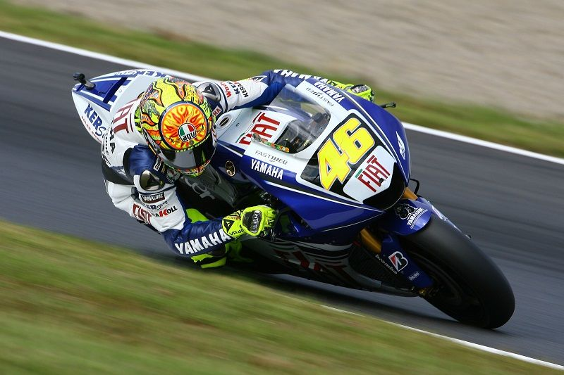 2008 Yamaha Yzr M1 Team Fiat Yamaha World Champion Valentino Rossi Motogp Motogp Rossi