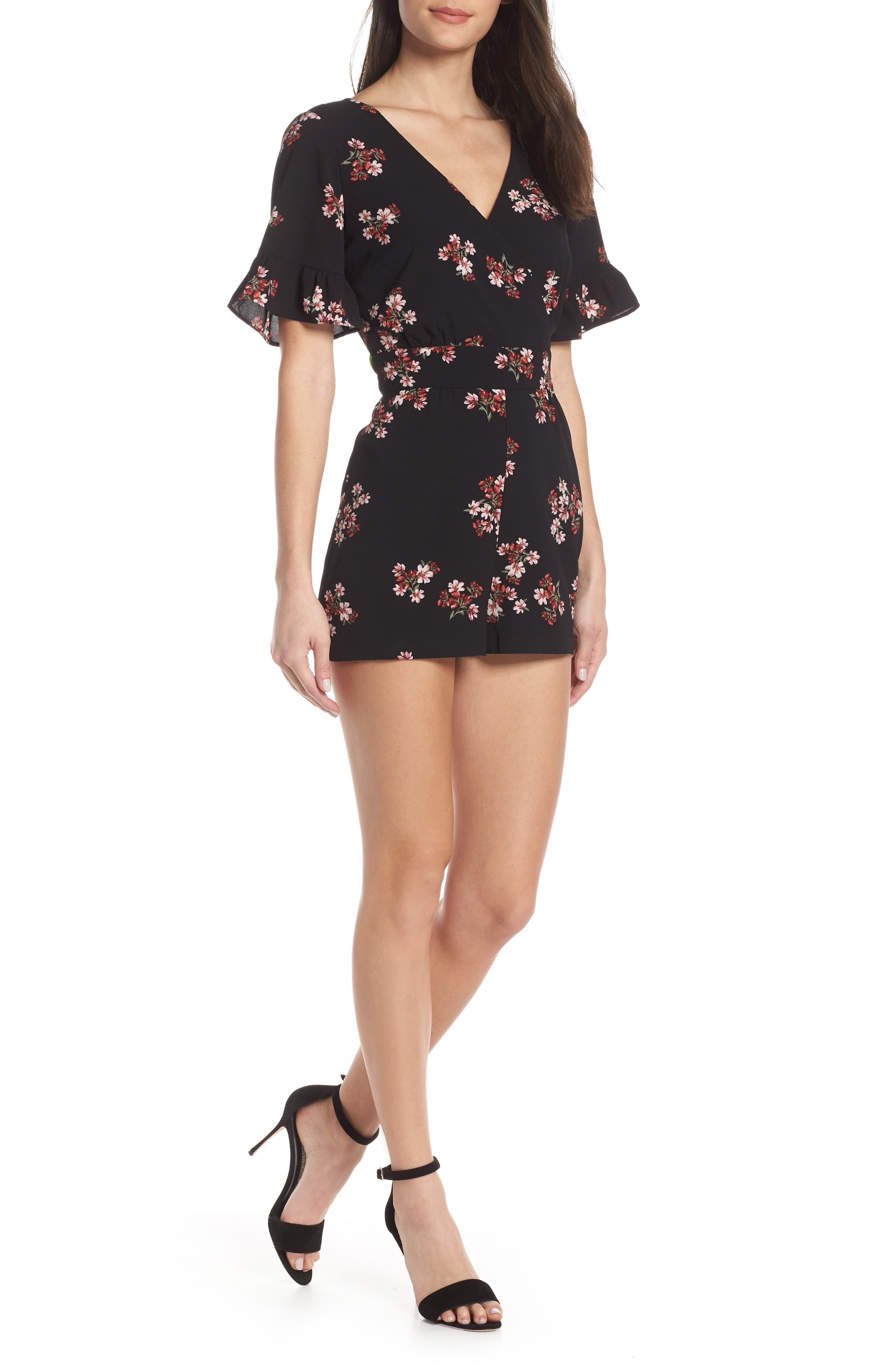 Bb Dakota Floral Orchard Romper Rompers Best Wedding Guest Dresses Clothes For Women