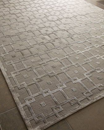 3sz2 Exquisite Rugs Silver Blocks Rug 12 X 15 10 14 9