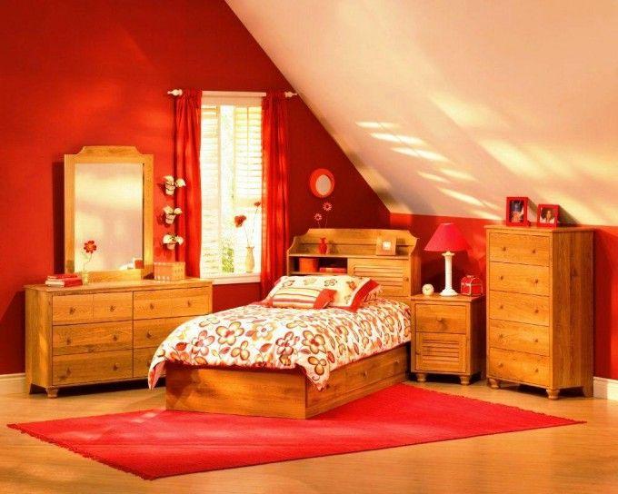 Dream Interior Design Teenage Girl Bedroom Ideas Solid Wood - Teenage girl bedroom ideas bright colors