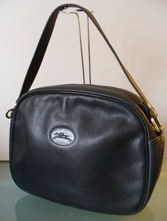 f9c8139d999b Vintage Longchamp Made in France Pebbled by TheOldBagOnline
