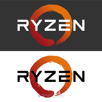 Amd Ryzen Logo Vector Vector Logo Logos Custom Logos
