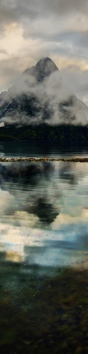 Milford Sound, South Island, New Zealand // Premium Canvas Prints & Posters // www.palaceprints.com
