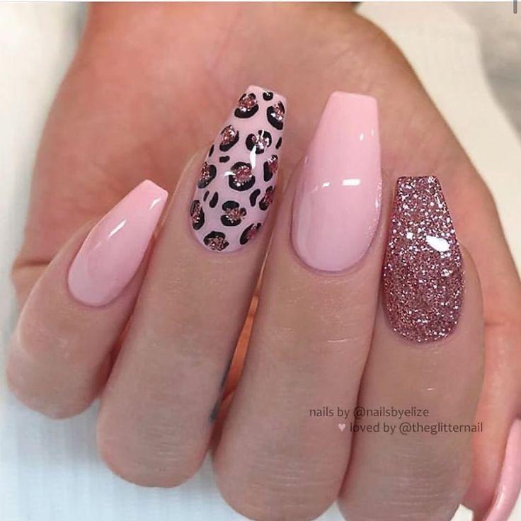 Nail Art Pink Nails