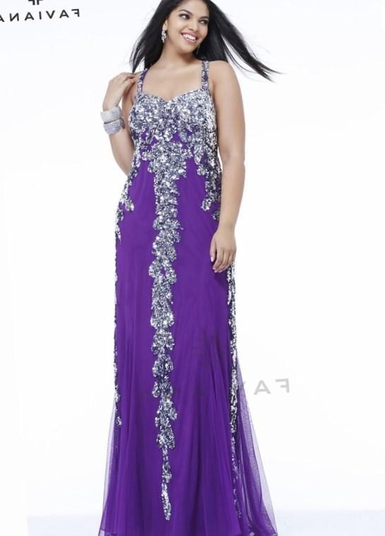 Plus Size Purple Prom Dresses Httppluslookpartyplus Size