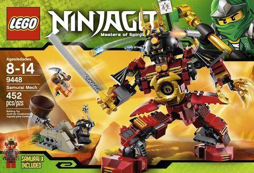 Lego Ninjago Set 9448 Samurai Mech Ebay Christians Board Lego