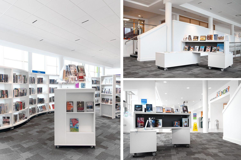 Öffentliche Bibliothek Barrhead, Großbritannien
