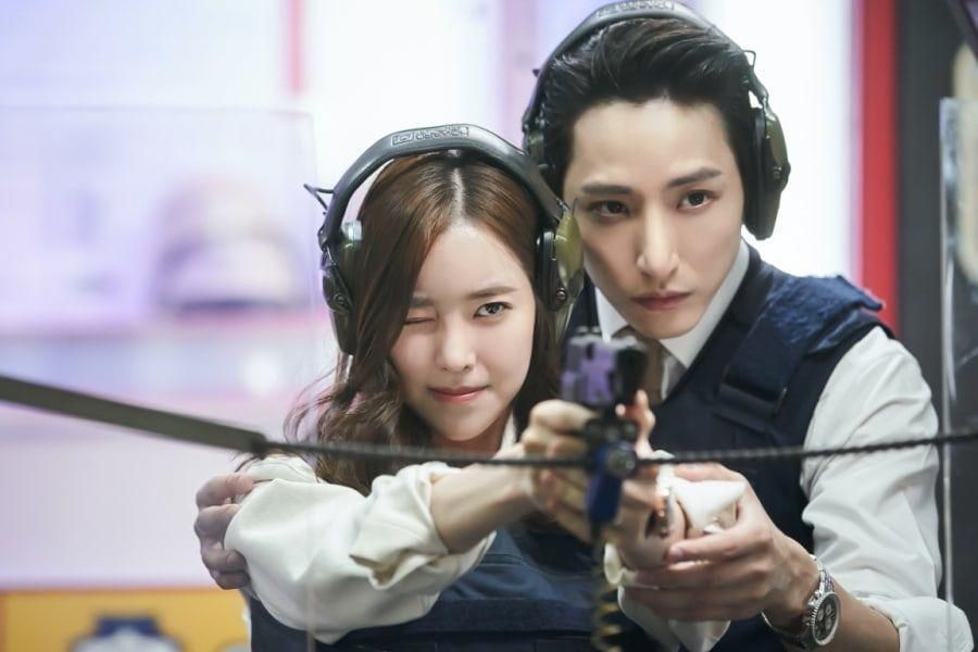 "Jin Se Yeon And Lee Soo Hyuk Get Close During A Date At The Shooting Range In ""Born Again"""