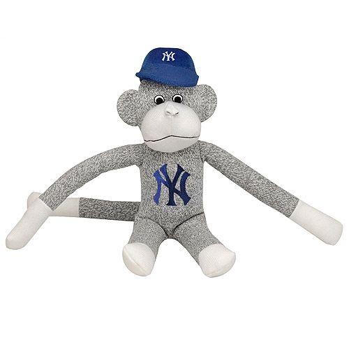 Major League Baseball Sock Monkey Baseball Monkey Boston Red Sox Baseball Sock Monkey Red Sock Monkey Baseball Gift