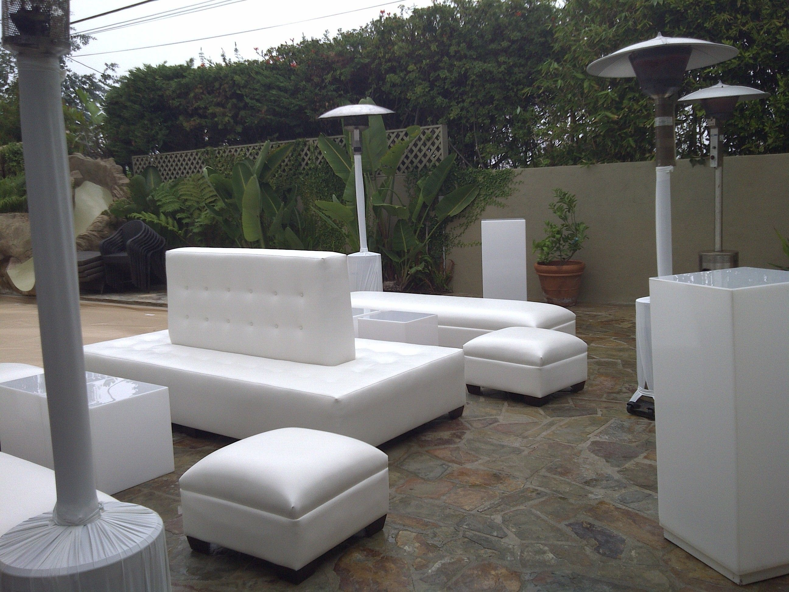 White lounge furniture inspiration board 1 pinterest for White outdoor furniture