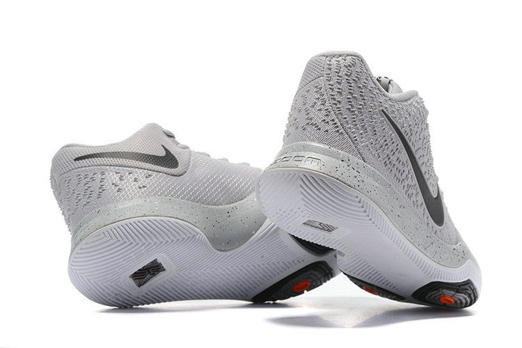 446c3d1f3758 New Arrival Cheap Nike Kyrie 3 Cool Grey Wolf Grey Black Orange ...