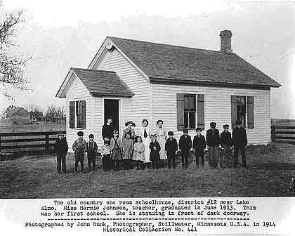 Oakdale Lake Elmo Historical Society District 12 School