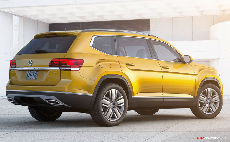Usa Russia And Middle East To Get New Volkswagen Atlas Suv Volkswagen Suv Toyota Auris
