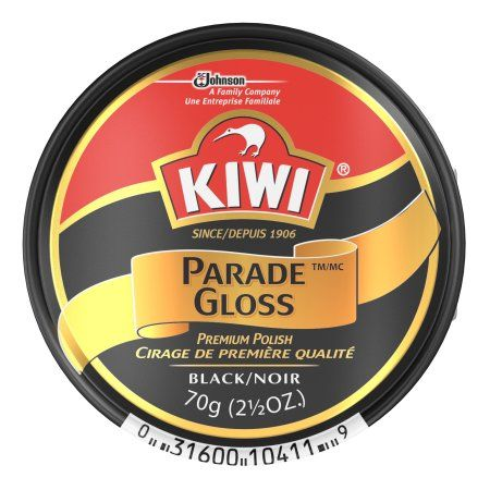 black shoe polish walmart