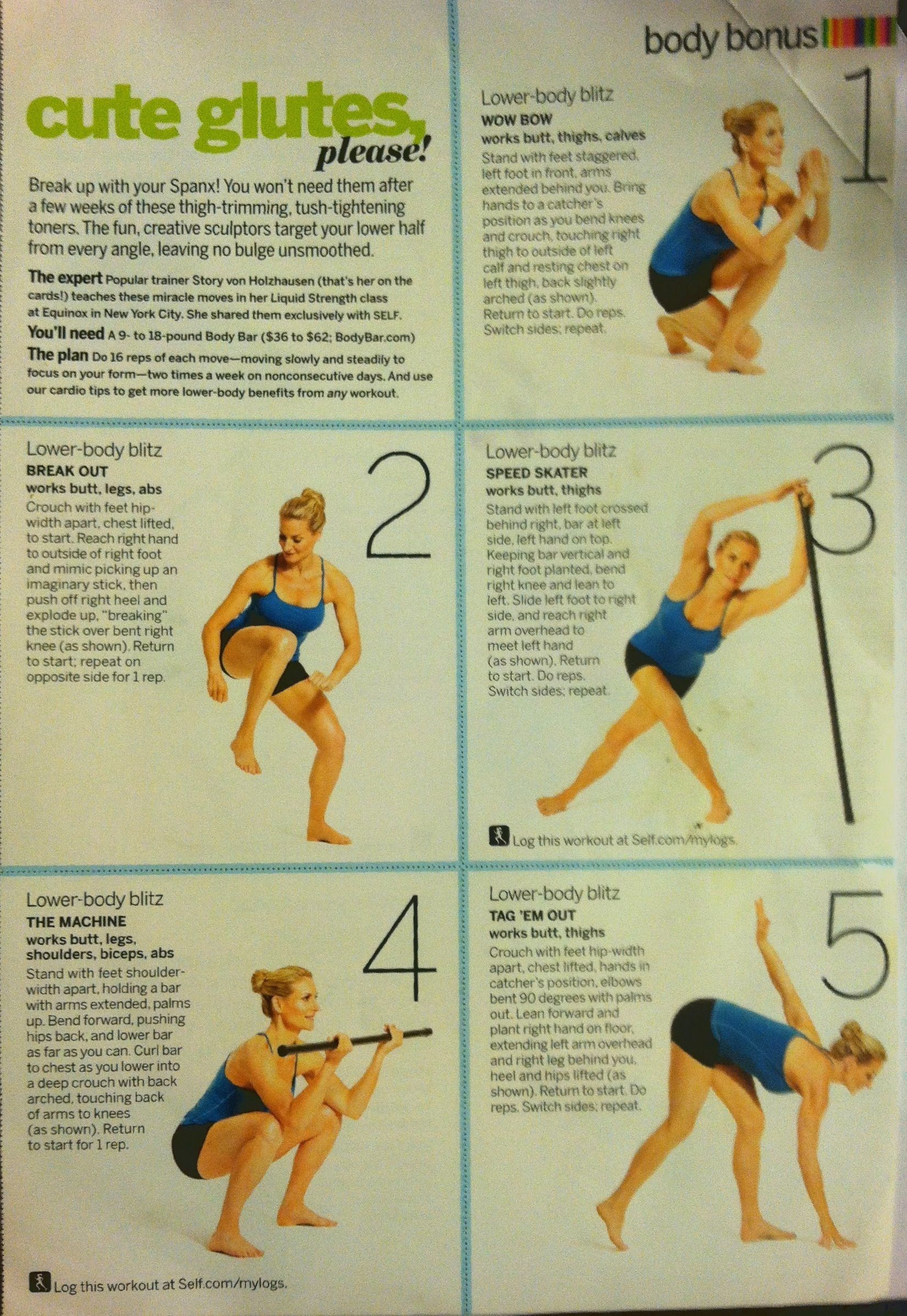 Cute Glutes Please Glutes Workout Lower Body