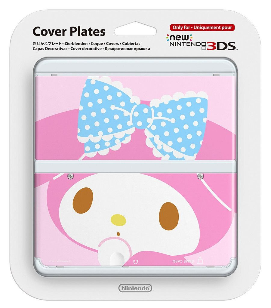 New Nintendo 3ds Cover Plates My Melody No076 Video Game Console