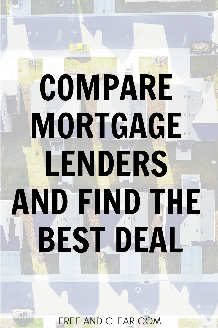 Mortgage Lender Directory Freeandclear Mortgage Lenders Best Mortgage Lenders Mortgage