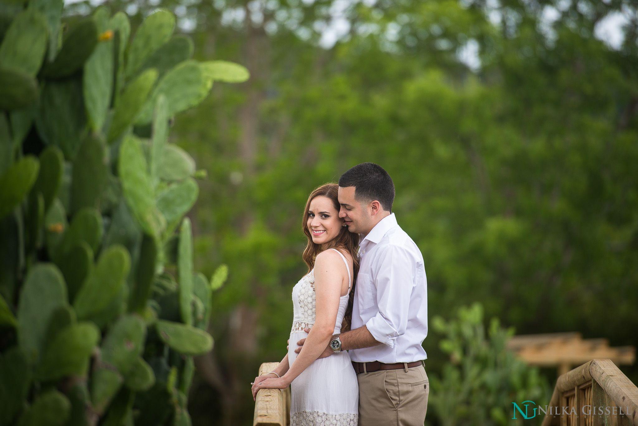 Our Engagement Session~ Jardín Botánico de Caguas, PR ~ Nilka Gissell Photography