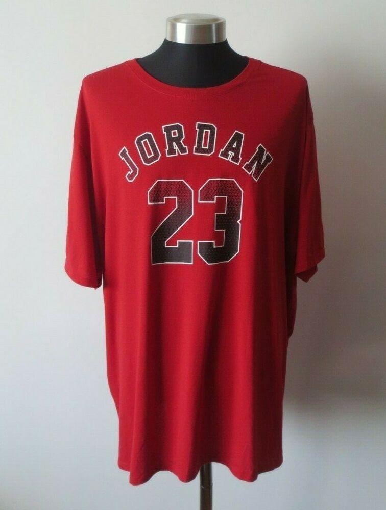 NIKE Air Jordan 23 Men's Red Dri-Fit