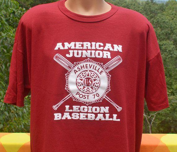 Vintage Tee 80s American Legion Baseball Little League Team Etsy Vintage Tees American Legions Baseball