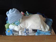 Tolles geschenk zur geburt ein baby aus windeln sonstiges in