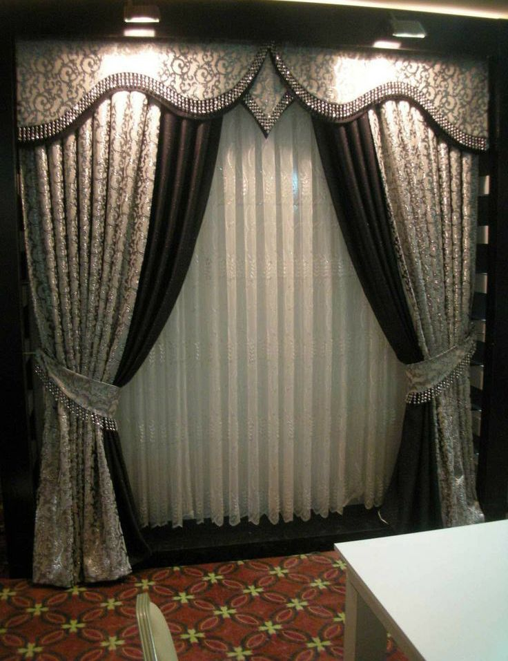 Modern Curtains Curtain Decoration Models Style Ideas Remodels Jpg 736 957 Window Curtain Designs Elegant Curtains Curtain Decor